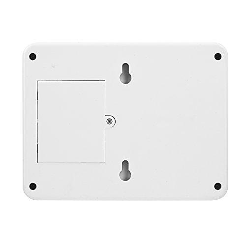 Queen.Y Alarma Inalámbrica Exterior Pir Sensor de Movimiento Alarma Campanadas Extra Ruidosas Contraseña Sistema de Alarma de Seguridad para El Hogar con Sensores Infrarrojos Proteger La
