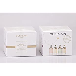 Guerlain - Aqua Allegoria - Collectors Edition - 4 x 7,5ml EDT Miniatures - Mandarine Basilic + Pamplelune + Limon Verde + Passiflora:Ege17ru