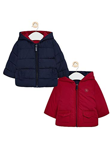 Mayoral 10-02471-038 - Wendbare Jacke für Baby - Jungen 2-4 Monate (65cm) Monaco NAV