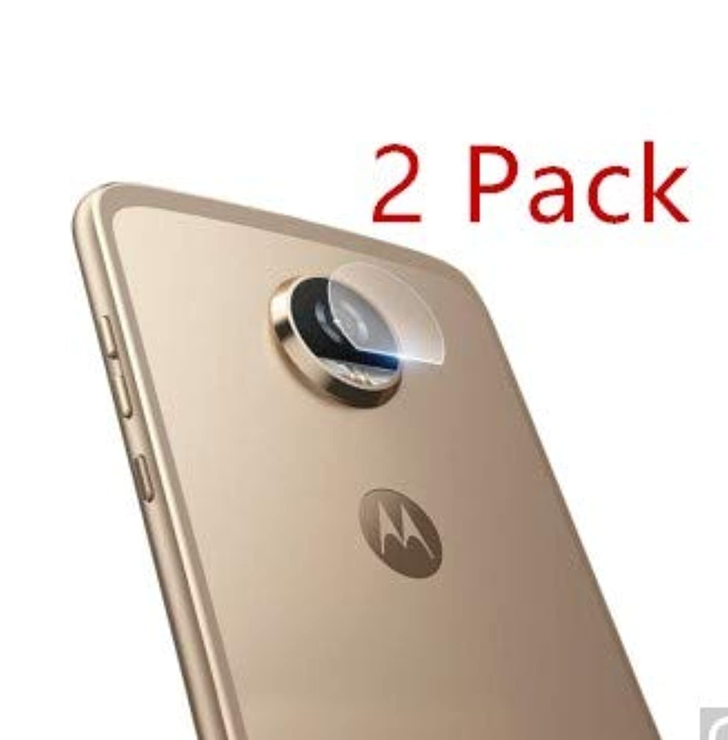 Joarty for Moto Motorola G5 Plus Tempered Glass Protector Rear Back Camera Lens Scratchless Strong Tempered Glass 2 Pack