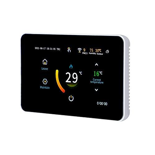 Akin Termostato smart con panel táctil LCD grande 4.3 inch...