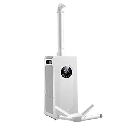 Humidificador Industrial Grande de 1800 ml/h, humidificador doméstico/Comercial de Gran Capacidad de 15 L, Apagado automático sin Agua, humidificación Continua Durante 12-16 Horas, área aplicabl