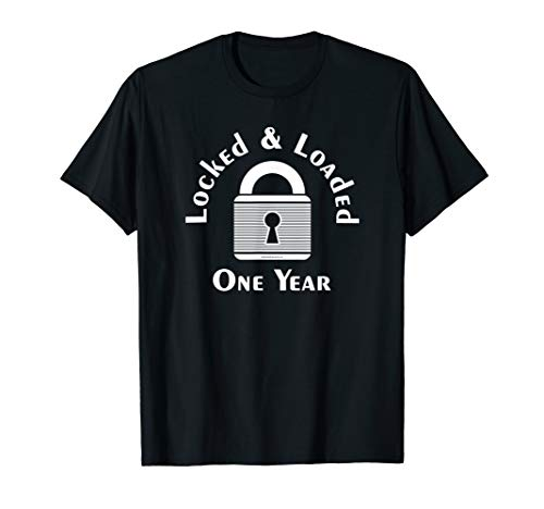 Locked One Year Male Chastity Femdom T-Shirt