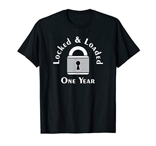 Locked One Year Male Chastity Femdom T-Shirt