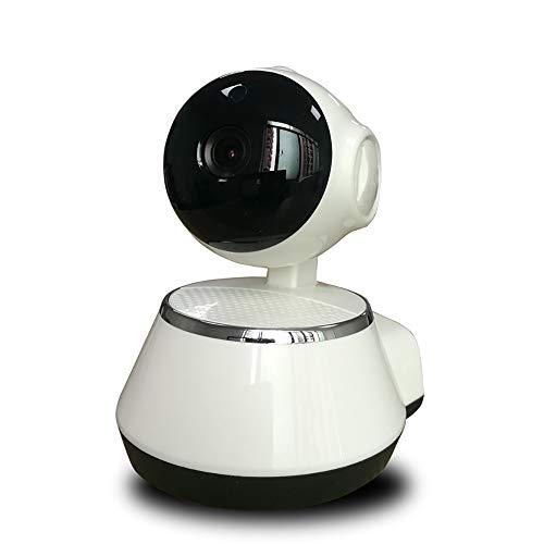 CHENC Wifi IP-bewakingscamera bewakingscamera 720P 360 graden draaibaar met bewegingsmelder/geluid audio met 2 Vie