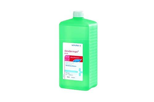 Desderman 116803 Schnelldesinfektion Pure, 1 L Spenderflasche