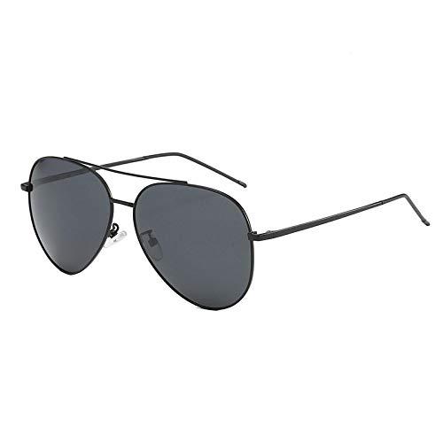 Gafas de Sol Gafas De Sol Polarizadas para Hombres Y Mujeres Que Conducen Gafas De Sol De Piloto con Montura De Aleación De Doble Brige, Gafas De Sol Clásicas Anti Uv400, Gafas De Conductor