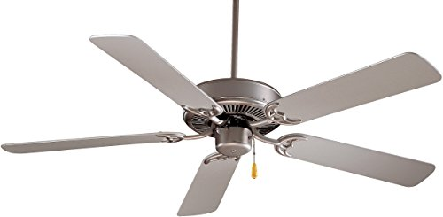 Minka-Aire F546-BS Downrod Mount, 5 Grey Blades Ceiling fan,...