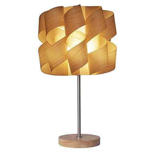 Unbekannt Lámpara de Mesa Decorativa, 40W, Color: Arce (99293105627)