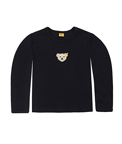 Steiff Unisex - Baby Sweatshirt 0006671, Gr. 86, Blau (3032)