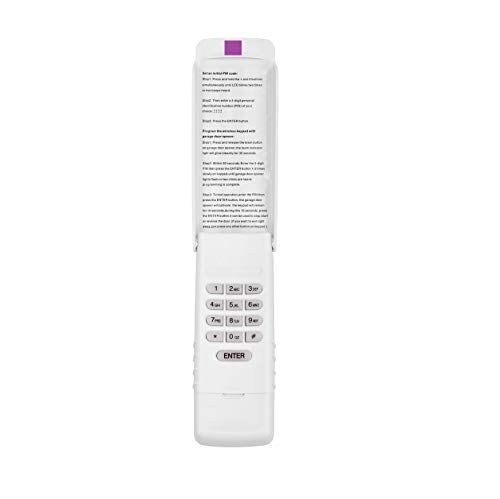 Alisontech 377LM,940D,139.53754 Wireless Keypad only for (Purple Learn Button) of Liftmaster/Sears Craftsman/Chamberlain Garage Door Openers(1Pack)