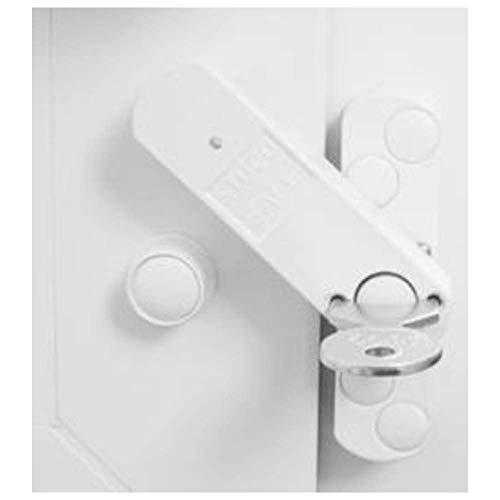 Bever Stuco Safe Fenstersicherung mit Pilzkopf für erhöhte Sicherheit weiß, 22SW