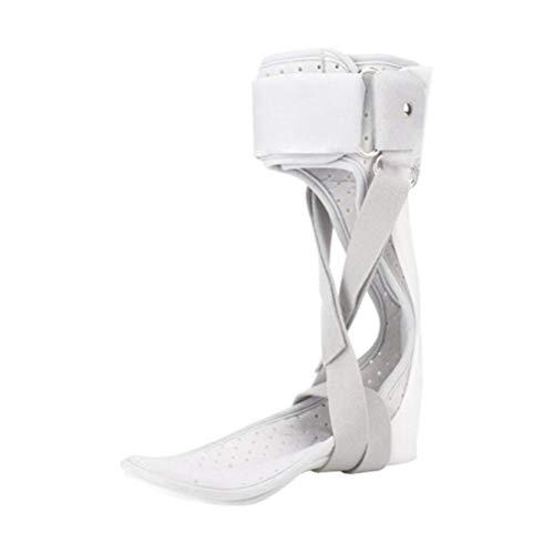 BGSFF Unterstützung der Sprunggelenkorthese, Fußschienen-Schlaganfall-Gelenkfraktur Federblattkorrektur Valgus-Rehabilitationsschutz, für Fallfuß, Nervenverletzung, Druckentlastung - Uni