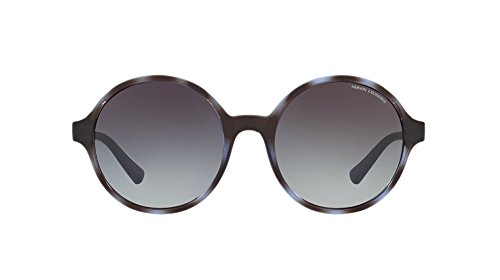 Armani sunglasses for men and women A|X Armani Exchange AX4059S Sunglasses 82068G-55 – Havana Blue Twilight Frame,