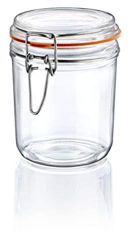 Borgonovo Terrine Contenedor Hermetico de Vidrio, 500 ml