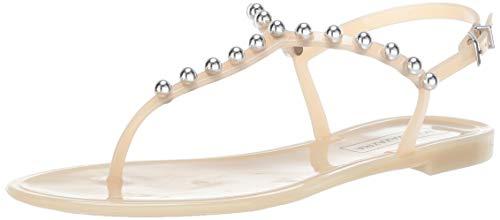 BCBGMAXAZRIA Women's Jellia Jelly Sandal Sandal, Nude, 6 M US