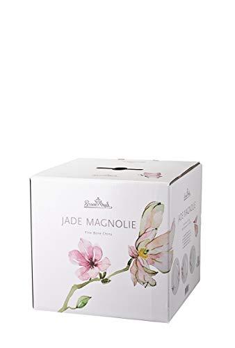 Rosenthal 61040-414124-18743 Jade - Vajilla de 30 Piezas, diseño de Magnolias