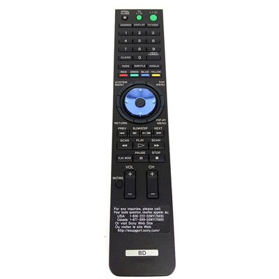 Universal Replacement Remote Control Fit for Sony BDP-S300 BDP-S301 BDP-S500 BDP-S200 Blu-ray DVD Player
