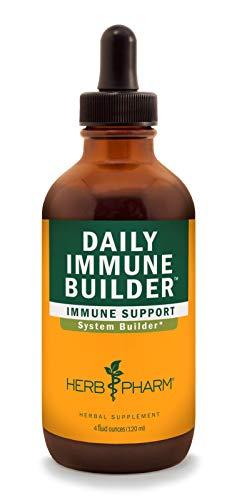 Herb Pharm Daily Immune Builder Herbal Immune System Defense - 4 Ounce