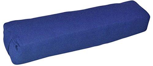 YogaAccessories Pranayama Cotton Yoga Bolster