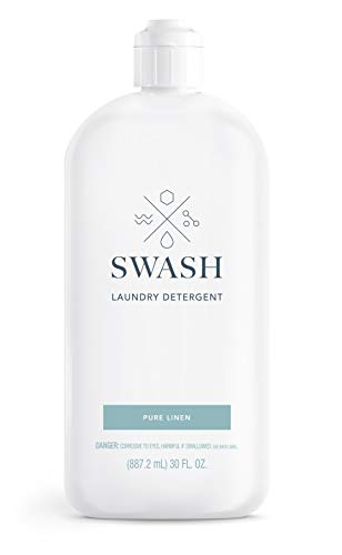 SWASH SWHLDLFL2 Liquid Laundry Detergent, Pure Linen, 83 Loads, 30 fl. Oz