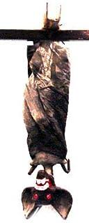 Lot de 3 - Chauve Souris à Suspendre 38cm