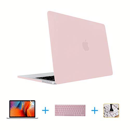 Funda para MacBook Pro de 13 pulgadas, funda para MacBook y teclado y protector de pantalla, solo compatible con MacBook New Pro de 13 pulgadas (A2159/A1706/A1708/A1989) (versión 2016/2017/2018/2019)