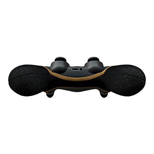 Smartgrip - Schwarz/Gold - Der ultimative PS4 Controller Überzug/Hülle mit patentierter Technologie - Made in Germany