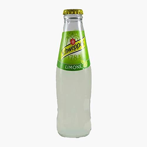 12x Schweppes limone Zitrone Lemonade Glas 18 cl erfrischend