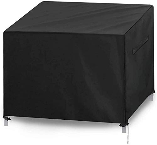 ZXCVB 420D Tela Oxford Tela Conchas de Muebles de jardín, Cubierta de jardín al Aire Libre Cubierta de Mesa Resistente al Agua Impermeable para Mesa y sillas al Aire Libre