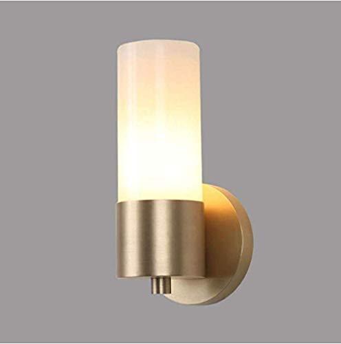 Meixian Wandlamp spotverlichting eenvoudig licht zuiver koper slaapkamer nacht moderne spiegel schijnwerper eenvoudig retro