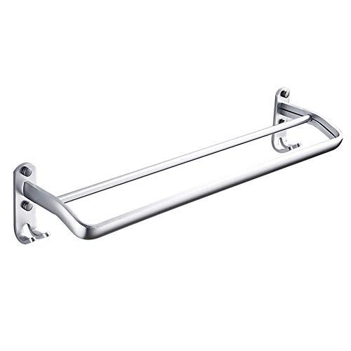 Estante de Toalla Espacio Aluminio Bipolar perforación Libre baño Estante Inodoro toallero baño Colgante