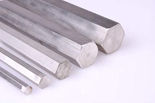Barra hexagonal de acero inoxidable SW 4 mm-17 mm (1.4305 / Aisi - 303 / V2A), 1.4305