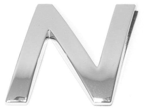 Eufab 30324 3d-letter N Car-logo