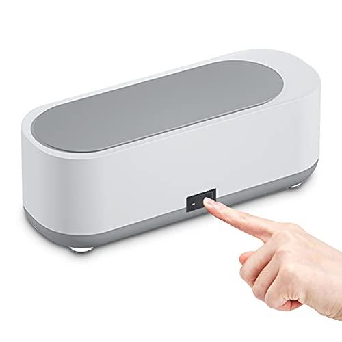 Ultraschallreinigungsgerät, Ultraschallreiniger, 300ml Mini brillenreinigungsgerät für Schmuck Silberringe Uhren Brillen Metallteile
