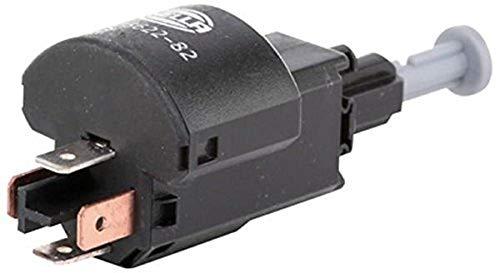 HELLA 6DD 008 622-821 Interruptor luces freno - 12V - Número de conexiones: 4 - bayoneta - eléctrico - Conmutador