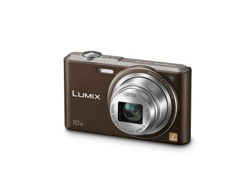Panasonic DMC-SZ3EG-T Lumix Digitalkamera (6,9 cm (2,7 Zoll) LCD-Display CCD-Sensor, 16,1 Megapixel, 10-fach opt. Zoom, 90MB interne Speicher, USB) chocolate