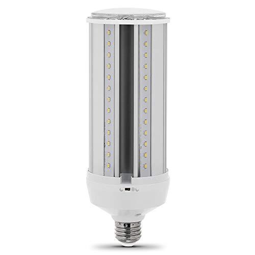 Feit Electric C4000/5K/MM/LEDI 300W Equivalent 38-Watt Non-Dimmable Ultra Bright Motion Sensor Activated 4000 Lumen Corn Cob Security LED Light Bulb, 5000K Daylight