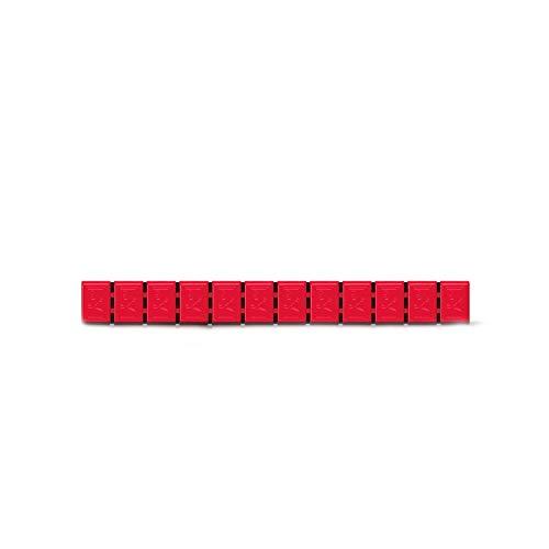 6x Klebegewichte Alufelgen Typ380 60g rot Hofmann Power Weight, Klebegewichte für Alufelgen, Leichtmetallfelgen, Auswuchtgewichte Klebegewichte