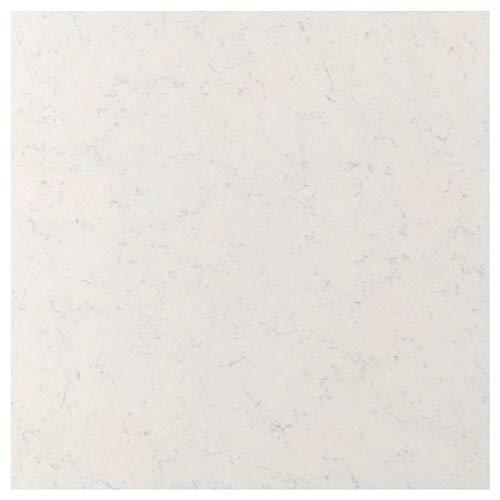 RÅHULT specialtillverkad väggpanel 1 m²x1,2 cm vit marmoreffekt/kvarts