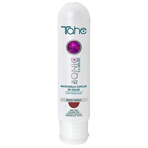 Tahe - Ionic - Mascarilla de color Rojo Fuego