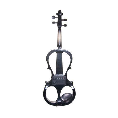Cecilio CEVN-1BK Style 1 Silent Electric Solid Wood Violin with Ebony...
