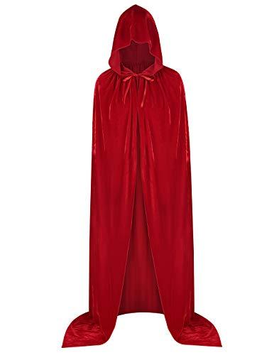 Peluca Larga Roja marca HDE