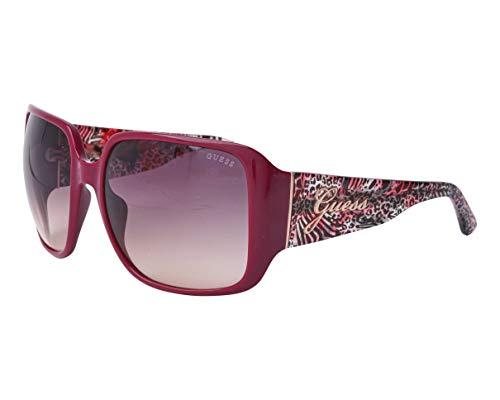 Guess Sonnenbrillen (GU-7682-S 72F) burgundy dunkel - mix bedruckt - grau verlaufend