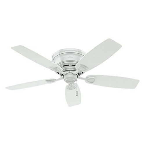 Whisper Wind Motor 5 White Blades 48