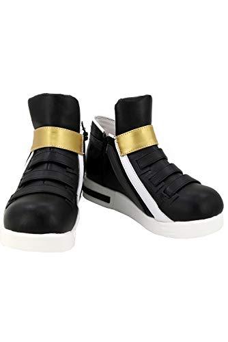 RedJade LOL League of Legend KDA Akali The Rogue Assassin Stiefel Karneval Schuhe Cosplay Boots Damen Schwarz Maßanfertigung