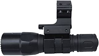 M1SURPLUS Clamp-On Tactical Flashlight Mount and High-Output LED Flashlight - This kit fits 12 Gauge Mossberg 500 590 835 Remington 870 Maverick 88
