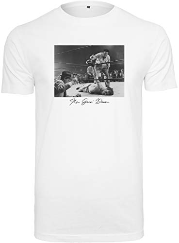 Mister Tee Herren Going Down Tee T-Shirt, White, S