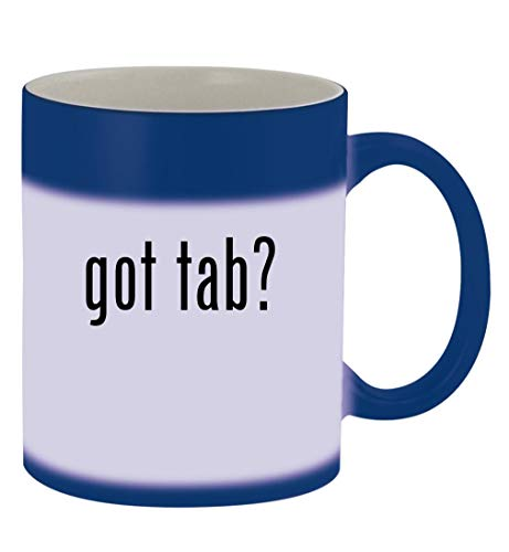 got tab? - 11oz Magic Color Changing Mug, Blue