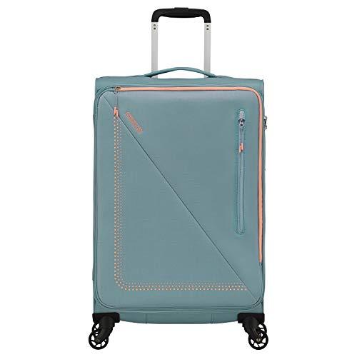 American Tourister Lite Volt Maleta con 4 Ruedas Azul Claro 68 cm